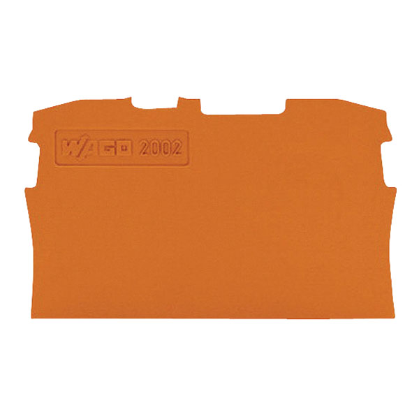 WAGO 2002-1292 0.8mm End and Intermediate Plate for 2001-1200 Seri...