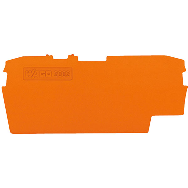 WAGO 2002-1692 1mm End & Internal Plate for 2002 Series 2-cond Fus...