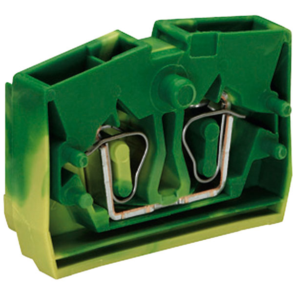WAGO 264-327 2 Conductor 24A Centre Terminal Block Fixing Flange G...