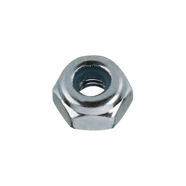 Toolcraft Steel Stop Nuts With Plastic Inserts DIN 985 M2.5 Pack Of 10