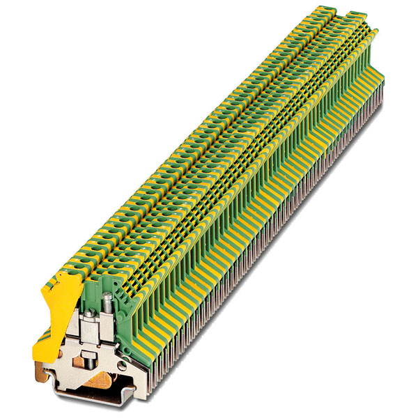 Phoenix Contact 0443065 Din Rail Terminal Block Screw 15.2mm Yello...