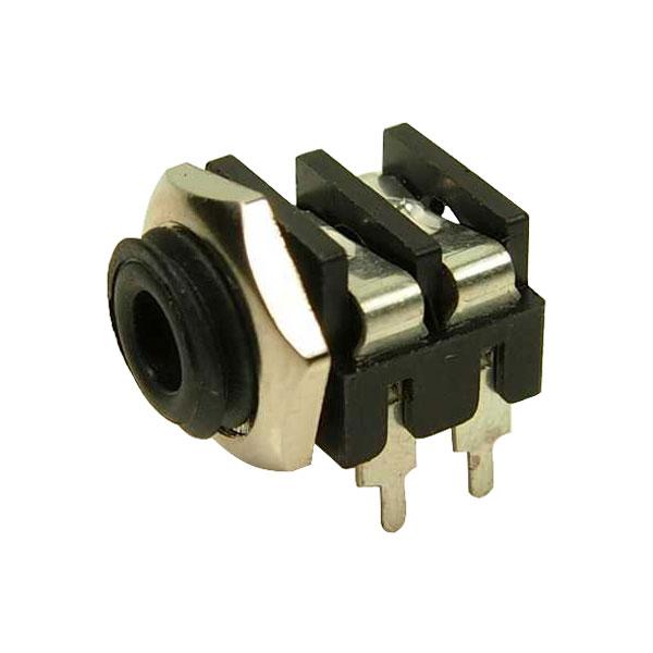Cliff Electronic - CL1384- MONO PANEL SKT S6/BB PC 3.5mm BLACK