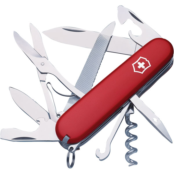 Victorinox 1 3743 Mountaineer Swiss Army Knife Rapid Online