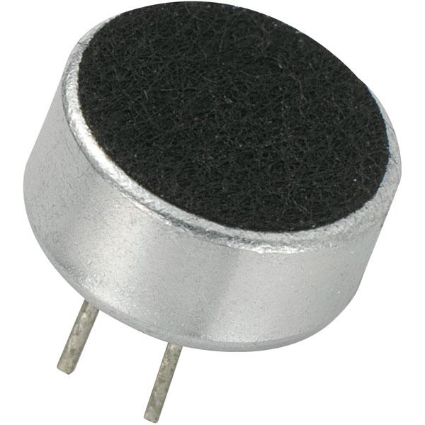 Image of KEPO KPCM-G97H45P-43dB-1187 Microphone Capsule Omni -43dB 9.7 x 4.5mm