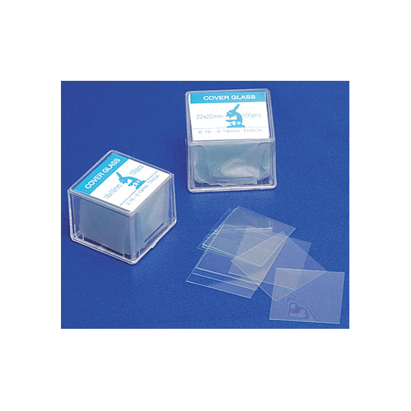 Image of Rapid Microscope Cover Slips 18 x 18mm Pack of 100