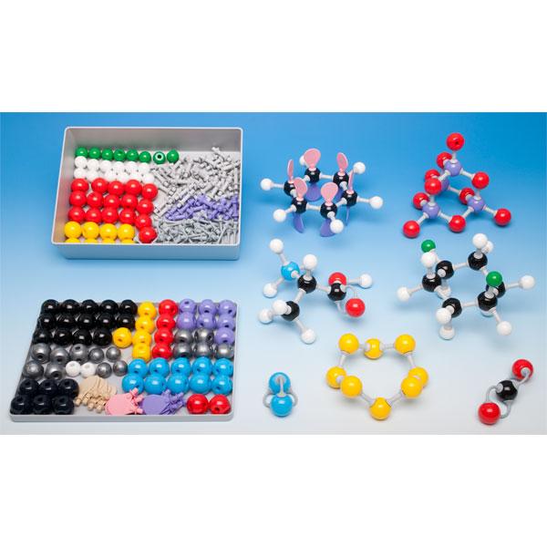 Image of Molymod MMS-004 Inorganic - Organic Teacher Set - 108 Atoms, 86 Links
