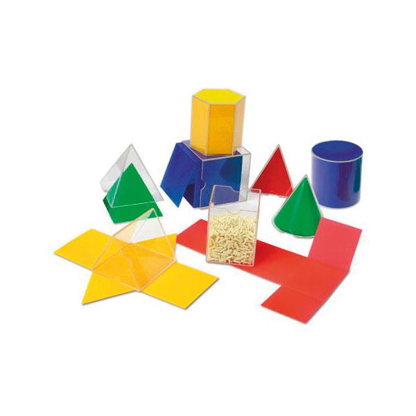 Image of Learning Resources Folding Geometric Shapes Set of 8