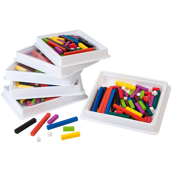 Image of Learning Resources Cuisenaire Rods Classroom Multi-pack