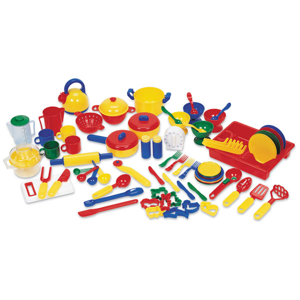 Image of Learning Resources Kitchen Set - 70 Piece Set