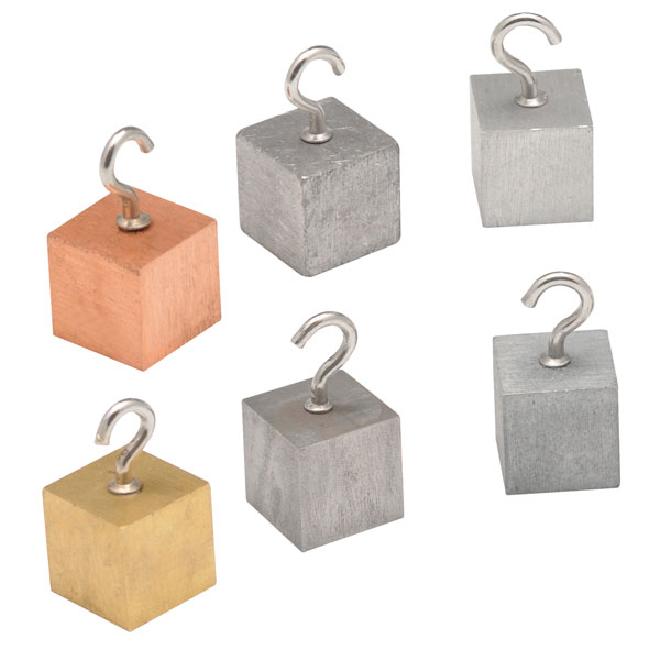 Image of Eisco PH0108P - Cubes for Density Investigation - 20mm Cubes - Set...