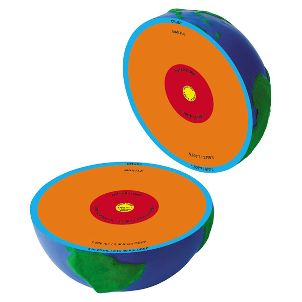 Image of Learning Resources Cross Section Earth Model
