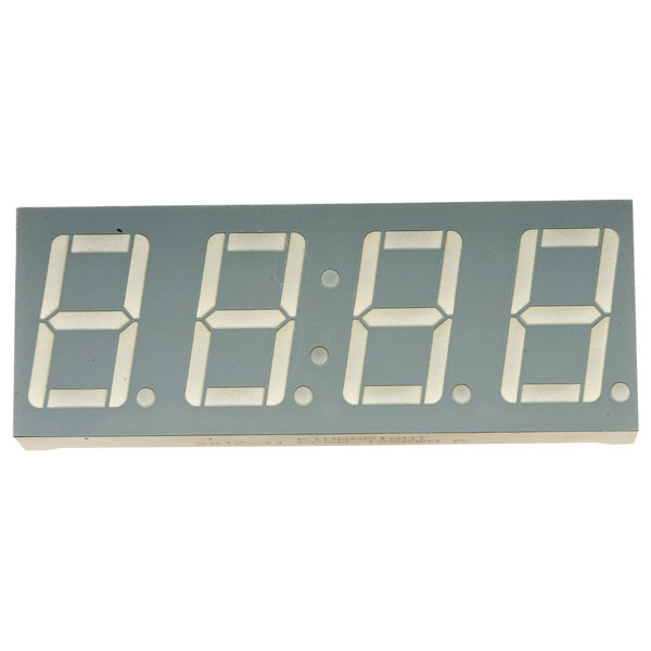 Image of Kingbright CC56-12SRWA 4 Digit Red LED Display