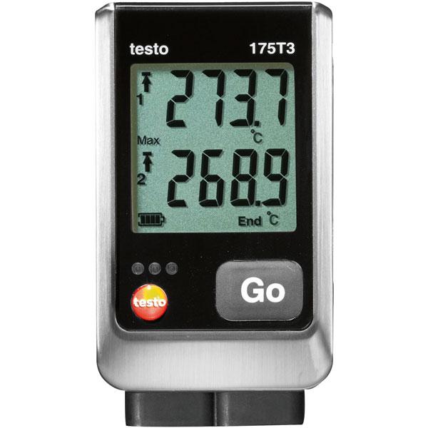 Image of Testo 0572 1753 175 T3 Temperature Data Logger