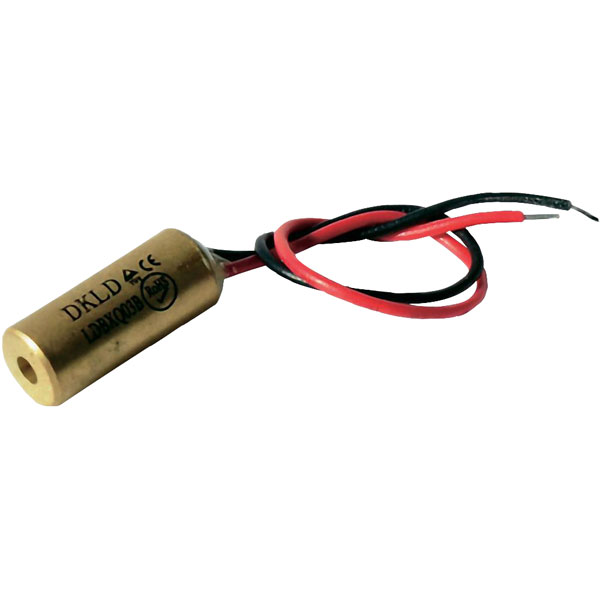 Laserfuchs 70103984 Red Class 2 Laser 10m 1mW 3-12VDC 25mA 650nm W...