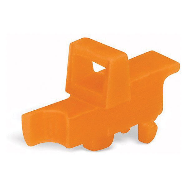 WAGO 2003-7300 Snap-in Lockout for 2003 Series Orange