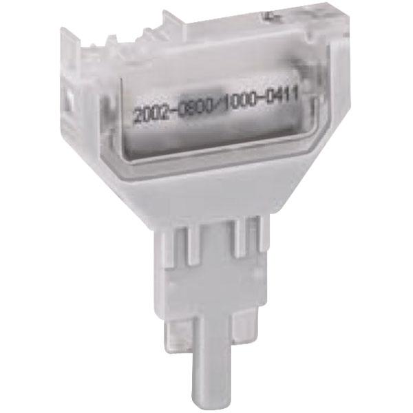 WAGO 2002-800 2 Pole 5.2mm Empty Plug Housing Type 1 for 2002 Seri...