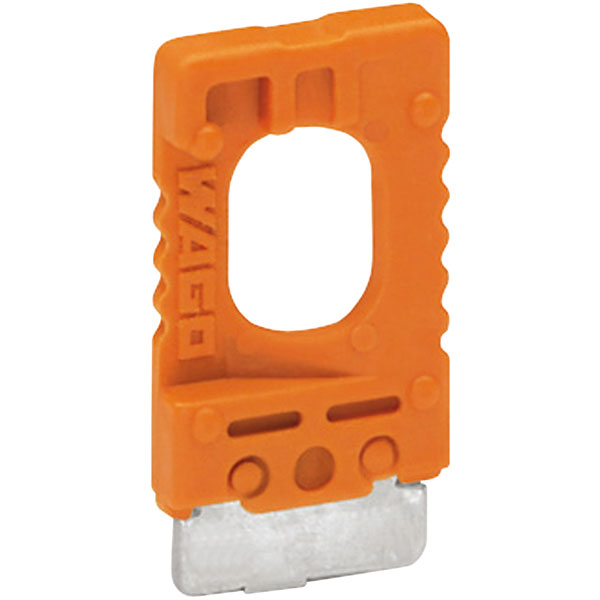 WAGO 2002-401 10A Disconnect Plug for Carrier Terminal Blocks 2002...
