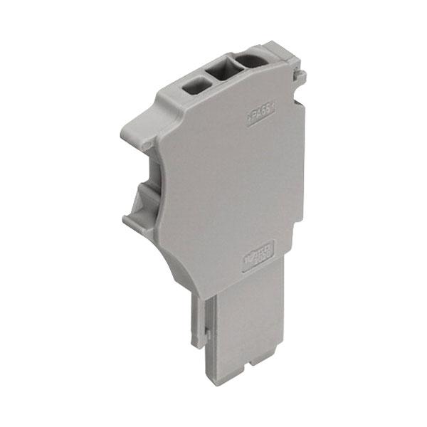 WAGO 2020-161 1 Conductor Base Module End Plate Grey