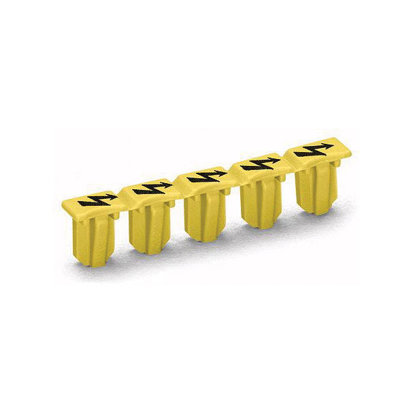 WAGO 2001-115 5 Piece High Voltage Warning Marker for Double Deck ...