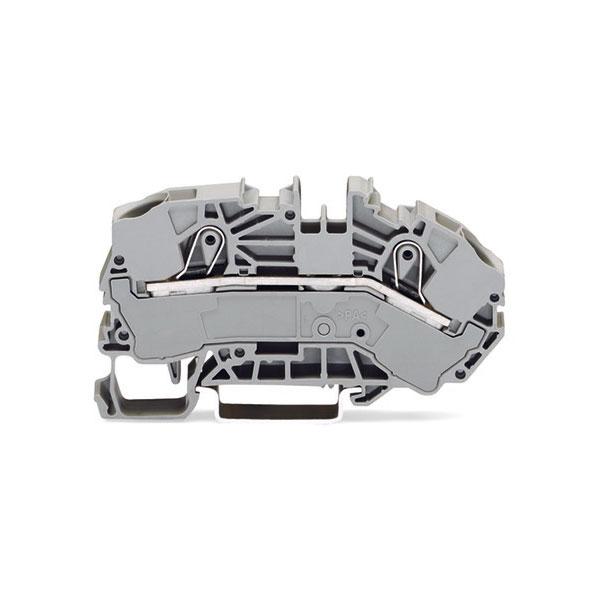 WAGO 2016-7601 2 Conductor Supply Terminal Block Grey