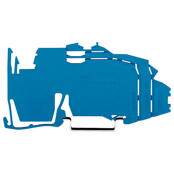 WAGO 2009-304 1.5mm Busbar Carrier for 2003 Series Blue