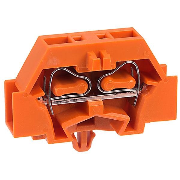 WAGO 261-316 2 Conductor Snap In Terminal Block Orange