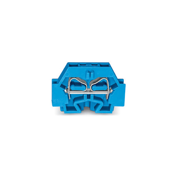 WAGO 262-304 2 Conductor Fixing Flanges Terminal Block Blue