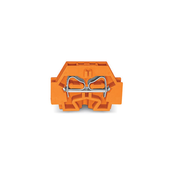 WAGO 262-306 2 Conductor Fixing Flanges Terminal Block Orange