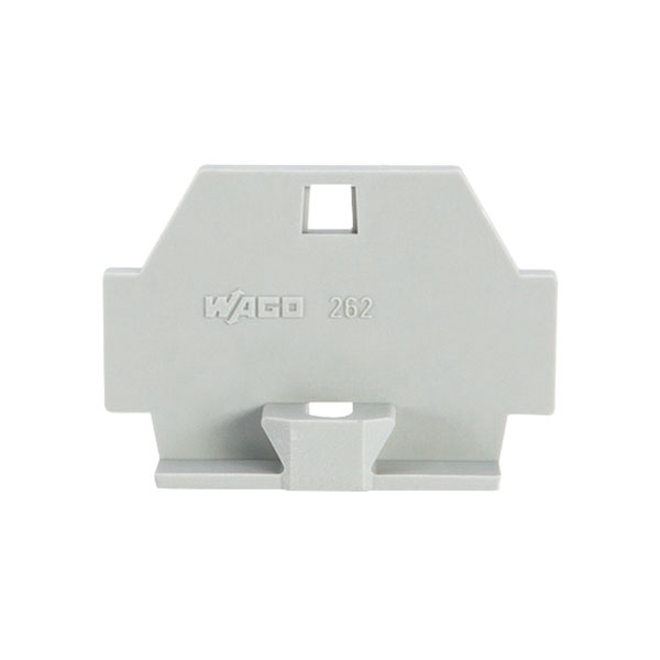 WAGO 262-361 7mm End Plate Fixing Flanges 262 Series Grey