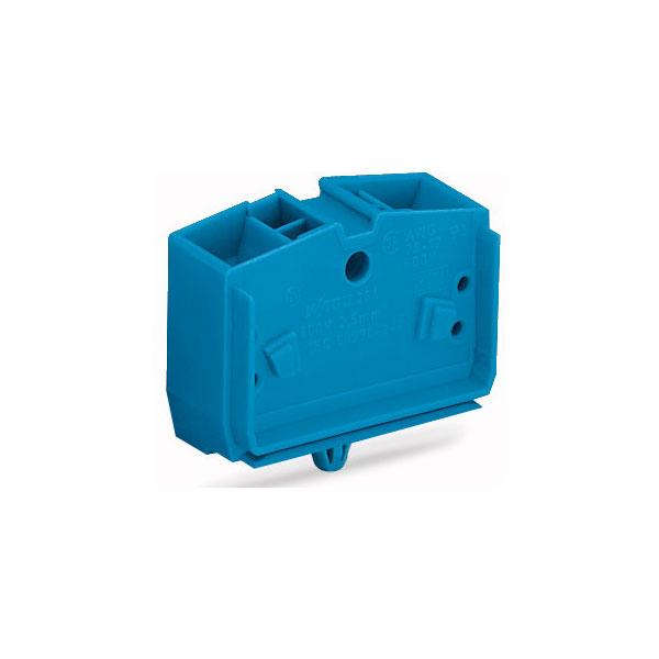 WAGO 264-344 4 Conductor Snap In Terminal Block Blue