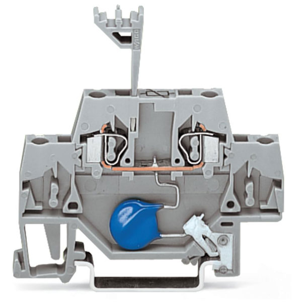 WAGO 280-502/281-613 5mm Varistor 24V Terminal Block Grey