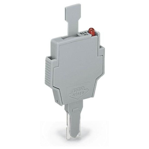 WAGO 281-512/281-501 6mm Fuse 5x20mm LED 24V with Pull Tab Grey