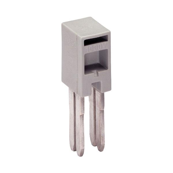 WAGO 285-435 Insulated Adjacent Jumper Grey