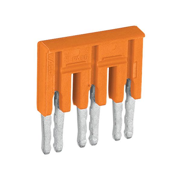 WAGO 282-433 3-way Insulated Jumper Orange