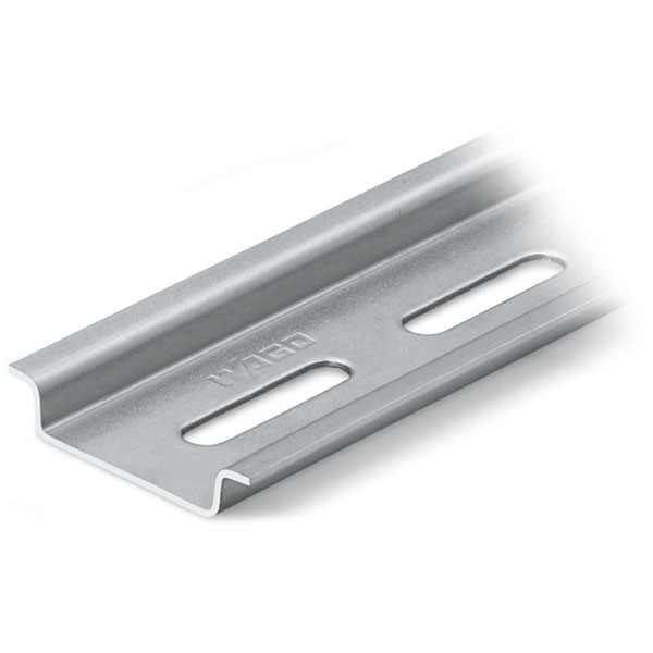 WAGO 210-112 Steel Carrier Rail Slotted Galvanized