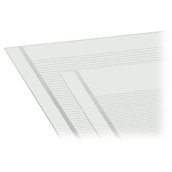 WAGO 210-331/254-204 Marking Strips Terminal Blocks 17-32 White