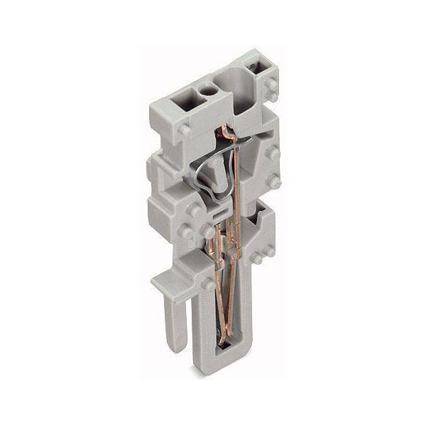 WAGO 769-502 1-conductor Center Module Codable 1-pole Grey