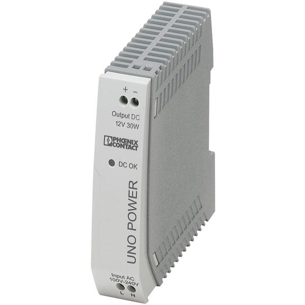 Phoenix Contact 2902998 UNO-PS/1AC DIN Rail Power Supply 12V DC 2....
