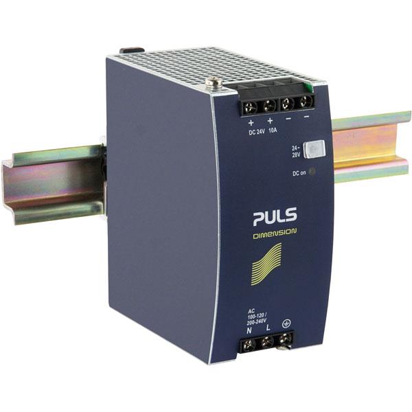 PULS CS10.241 Dimension DIN Rail Power Supply 115/230V AC 24V DC 1...
