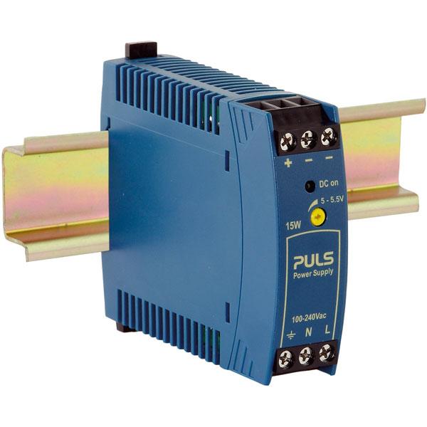 PULS ML15.051 MiniLine DIN Rail Power Supply 5V DC 3A 15W 1-Phase