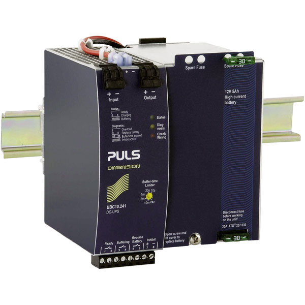 PULS UBC10.241 DC USP Control Unit with Battery 22.5V DC 10A 240W
