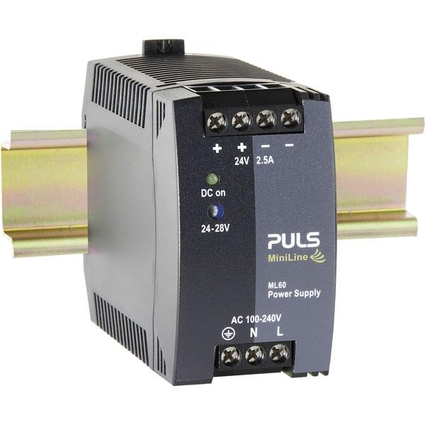 PULS ML60.121 MiniLine DIN Rail Power Supply 12V DC 4.5A 54W 1-Phase