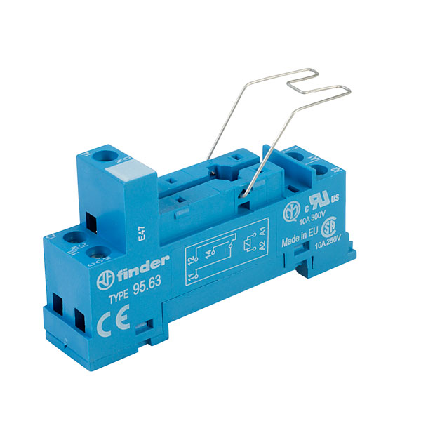 Finder 95.63SMA Relay 40.31 Series Socket Type 95.63