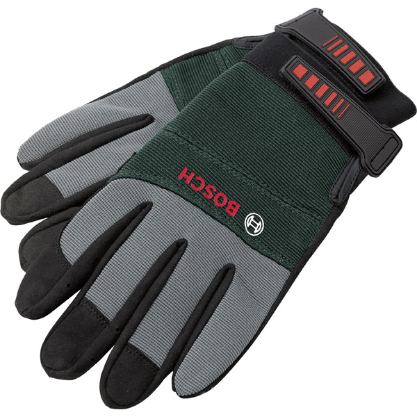 Image of Bosch F016800292 Gloves Size L Outside Synthetic Fiber/Lining Synt...