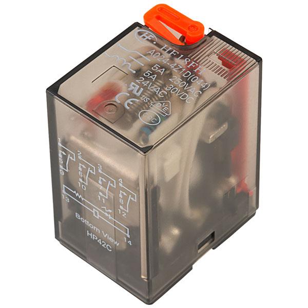 IMO HYE41PN240AC Ind Relay 14 Pin Plug In 4 Pole