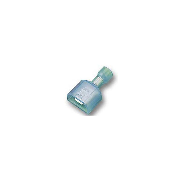 TE 3-520107-2 250 Crimp Tab Ultra-Fast Insulated Tin 16-14AWG Blue