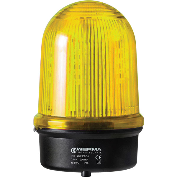 Werma Signaltechnik 280.320.68 LED Light 280 Yellow 115-230VAC