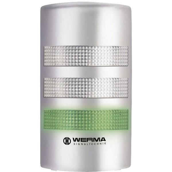 Werma Signaltechnik 691.300.55 Flatsign 24VDC Silver