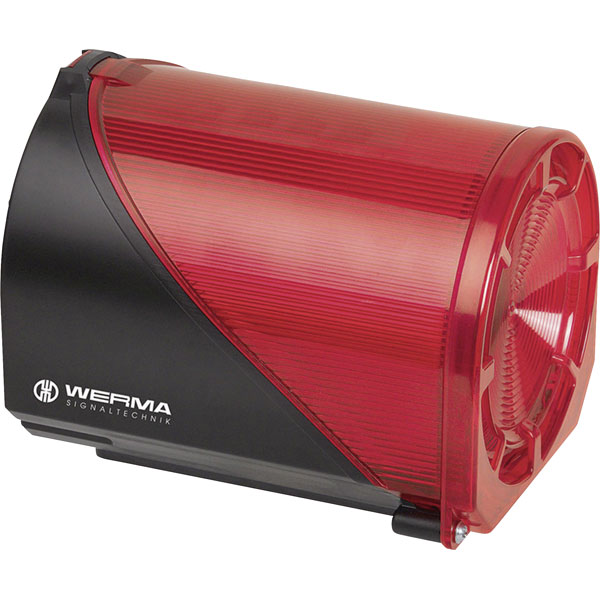 Werma Signaltechnik 444.110.75 LED EVS Element 32 Tone 24VDC Red