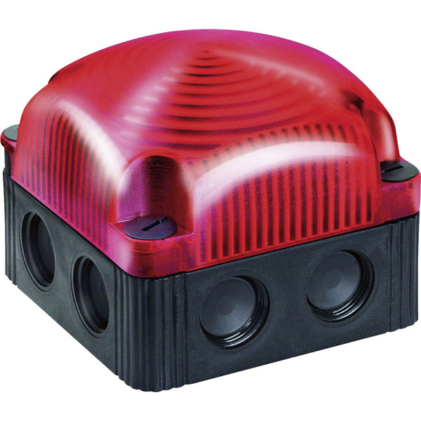 Werma Signaltechnik 853.110.55 LED Double Flash Beacon 24VDC Red